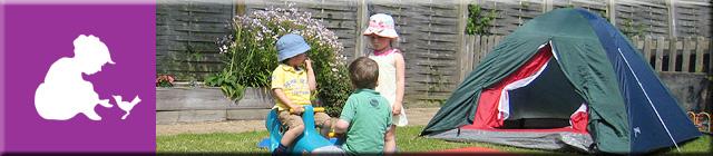 Anne Franke Montessori Horsham Nursery School - Secure Back Garden